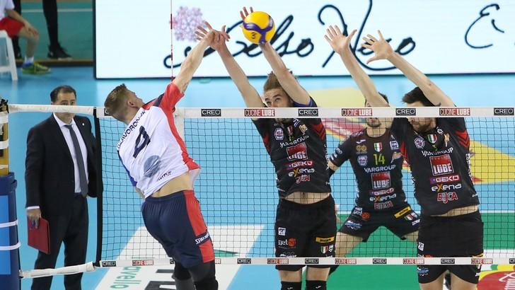 Coppa Italia: Modena, Perugia e Civitanova in semifinale