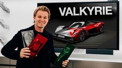 Nico Rosberg e la Aston Martin Valkyrie: prove di personalizzazione