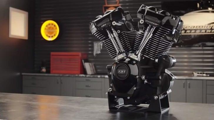 Harley-Davidson, il nuovo motore Screamin' Eagle per le touring