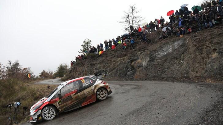 Rally, Montecarlo: Evans al comando davanti a Ogier