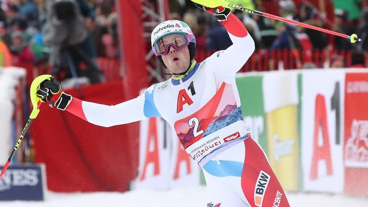 Kitzbuhel, Yule si aggiudica lo slalom in Coppa del mondo. Settimo Razzoli