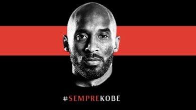 Morte Kobe Bryant, lutto al braccio per il Milan con il Torino