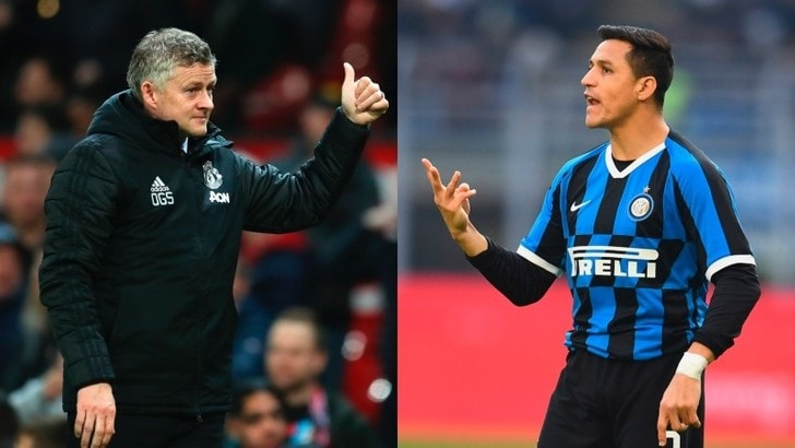 "Sanchez-Inter ai saluti? Solskjaer: ""In estate di nuovo allo United"""