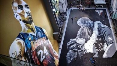 Bryant, i murales nelle Filippine per ricordarlo