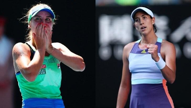 Australian Open: Barty e Halep ko, in finale ci vanno Kenin e Muguruza