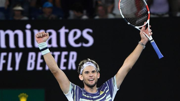 Thiem stende Zverev in quattro set: finale contro Djokovic agli Australian Open