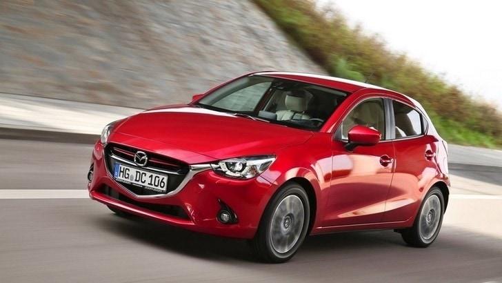 Nuova Mazda2, il test ad Atene