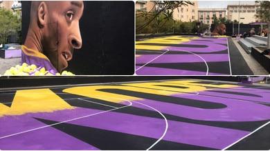 Un murale per Kobe Bryant ad opera di Jorit  a Napoli