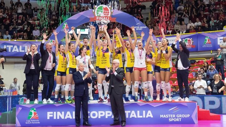 Trento vince la Coppa Italia di A2 Femminile
