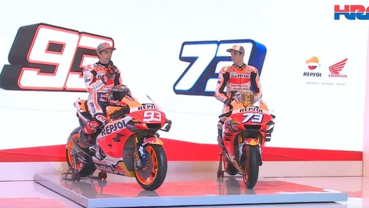 MotoGp, Honda: ecco la moto dei fratelli Marquez