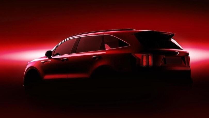 Nuova Kia Sorento, al Salone di Ginevra debutta l'Eco Hybrid
