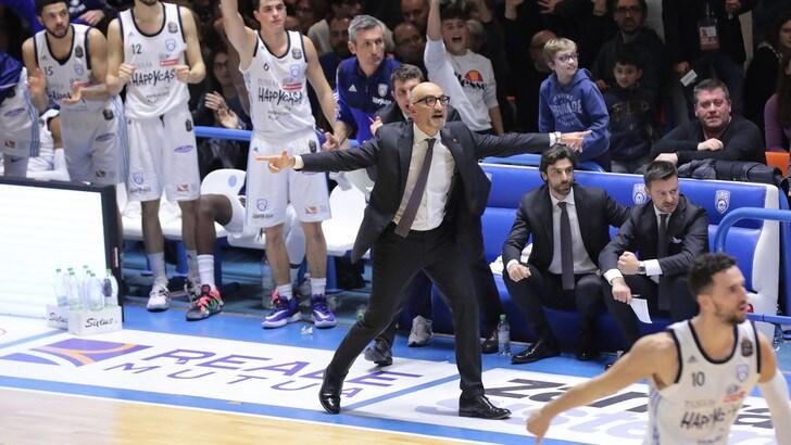 Brindisi, si chiude con una sconfitta l'avventura in Champions League