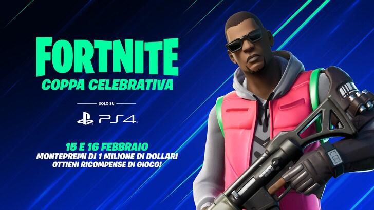 Coppa Celebrativa in arrivo per i giocatori PS4 di Fortnite