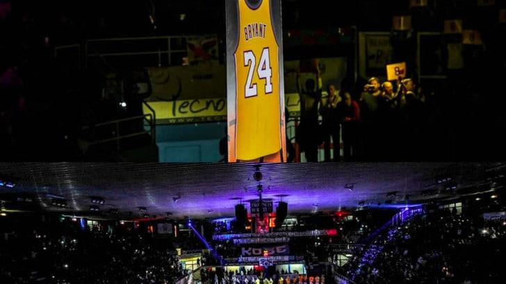 Kobe Bryant, commozione a Rieti per la sua maglia n.24
