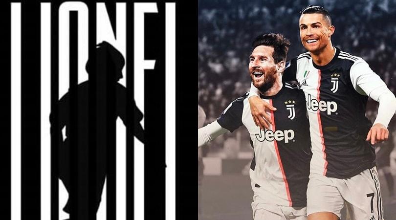 Messi alla Juve con Ronaldo, il sogno dei tifosi sui social