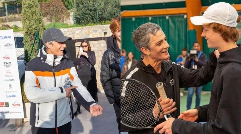 Da Sanremo al tennis: Fiorello sfida Sinner