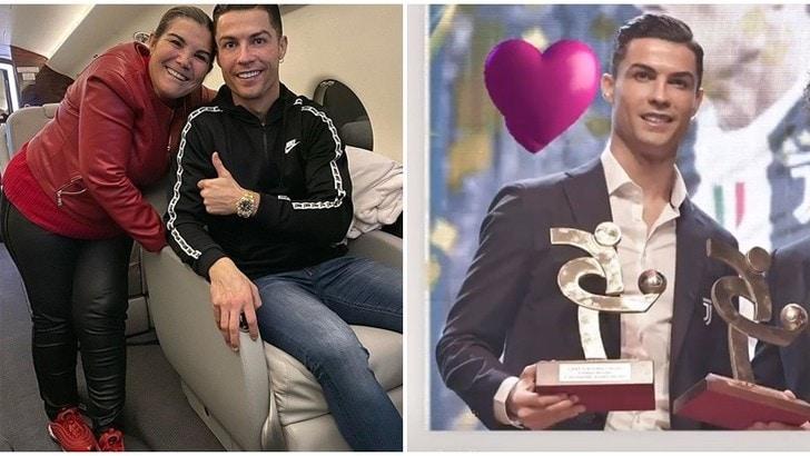 Juve, Cristiano Ronaldo e la dedica di Maria Dolores e Georgina: