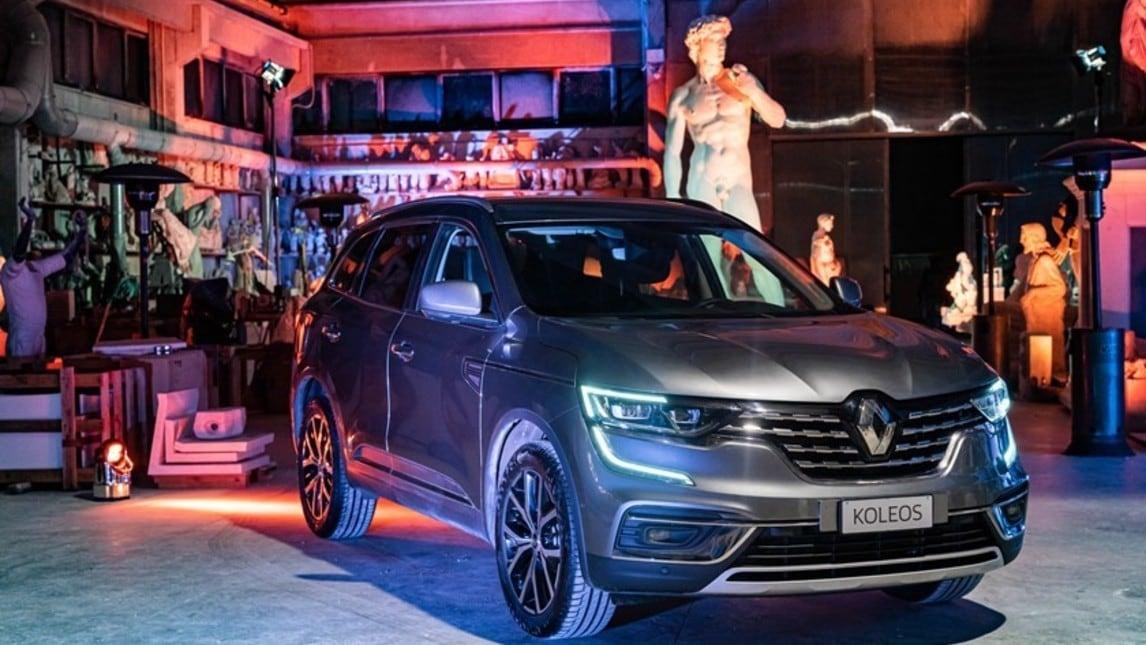 Nuovo Renault Koleos: presentazione a Carrara - gli scatti