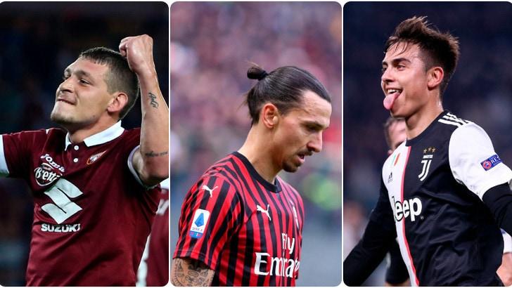 Tutte le probabili formazioni della 23ª giornata di Serie A