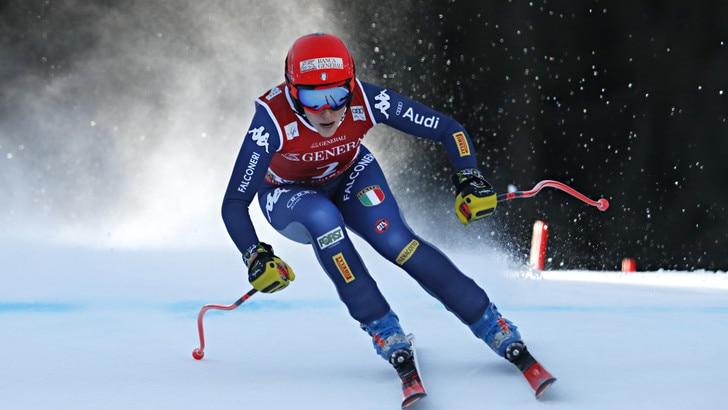 Discesa a Garmisch, Brignone seconda dietro alla Rebensburg