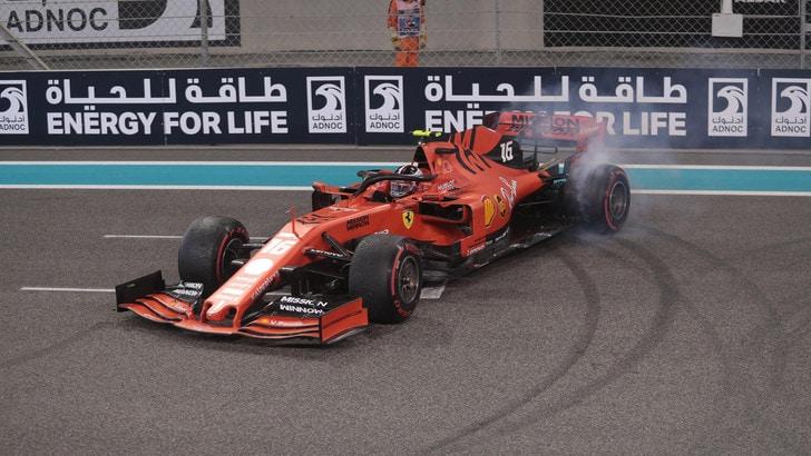 Ferrari, test a Jerez per Leclerc con le gomme 2021