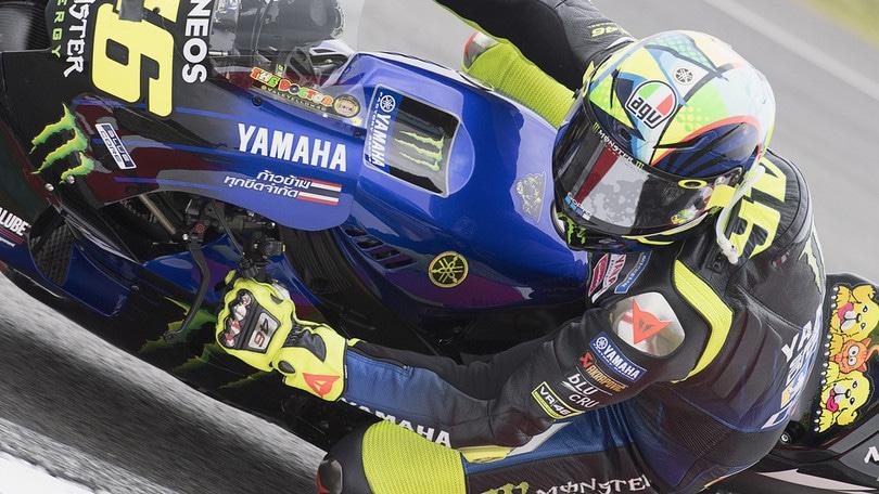 """Valentino Rossi: """"Prima giornata di test positiva, la moto migliora"""""""
