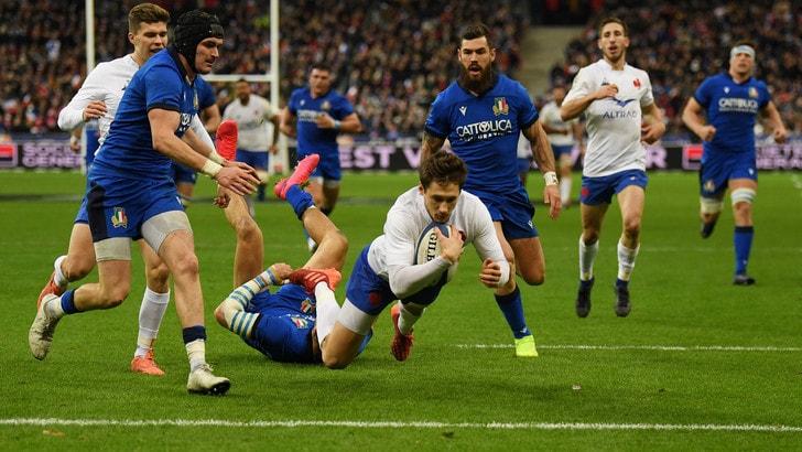 Sei Nazioni, Italia ko a Parigi: la Francia vince 35-22