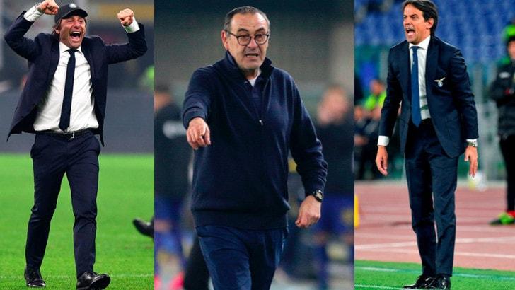 Scudetto, è lotta a tre: il calendario di Juve, Inter e Lazio fino al termine della stagione