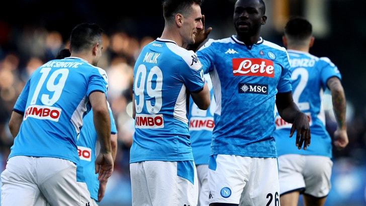 Napoli, accordo con Kappa prolungato di due stagioni