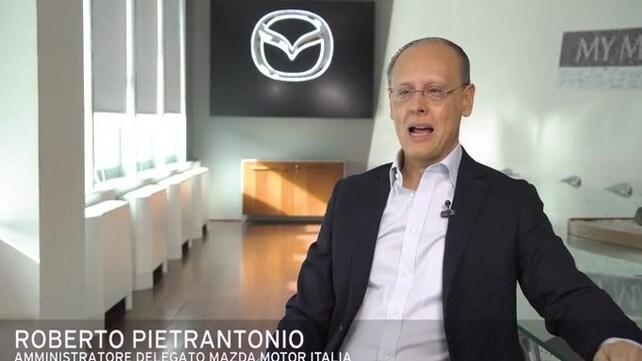 Video: Roberto Pietrantonio presenta i Mazda MX-30 e-Talks