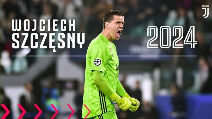Ufficiale, Szczesny alla Juve fino al 2024