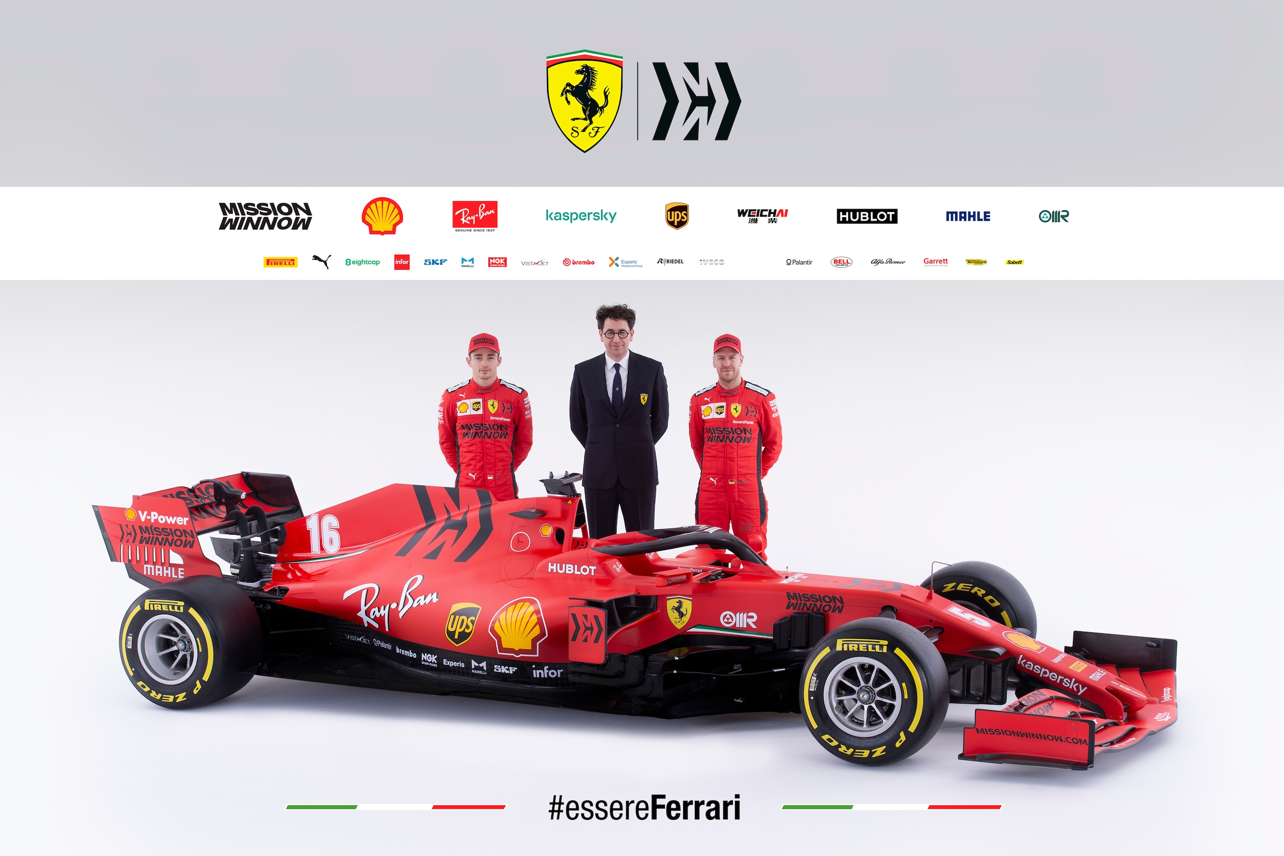 Formula 1, Ferrari SF1000 presentata a Reggio Emilia