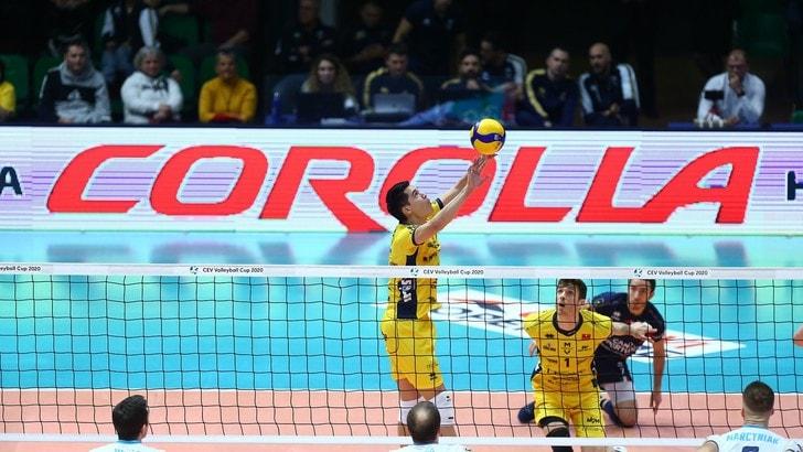 Cev Cup: Modena cerca ad Ostrava il pass per i quarti