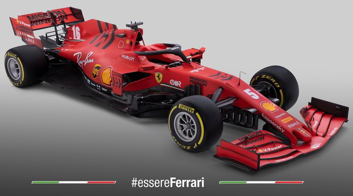 Ferrari SF1000, ecco la nuova monoposto di Vettel e Leclerc