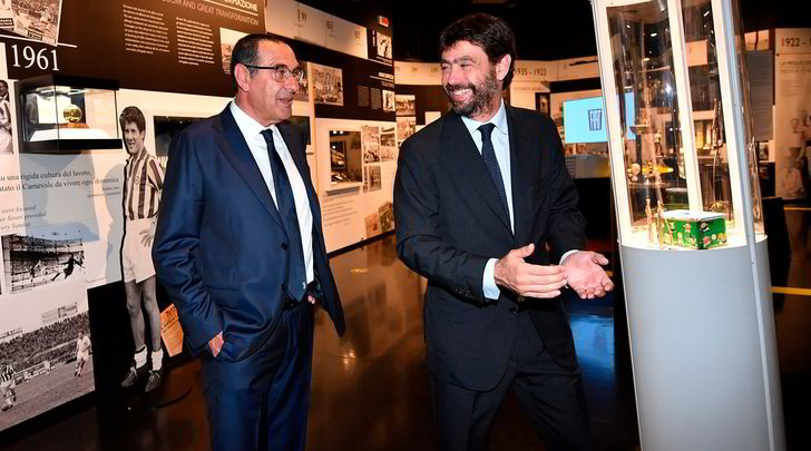 Agnelli rafforza Sarri: Juve in difficoltà ma la fiducia resta