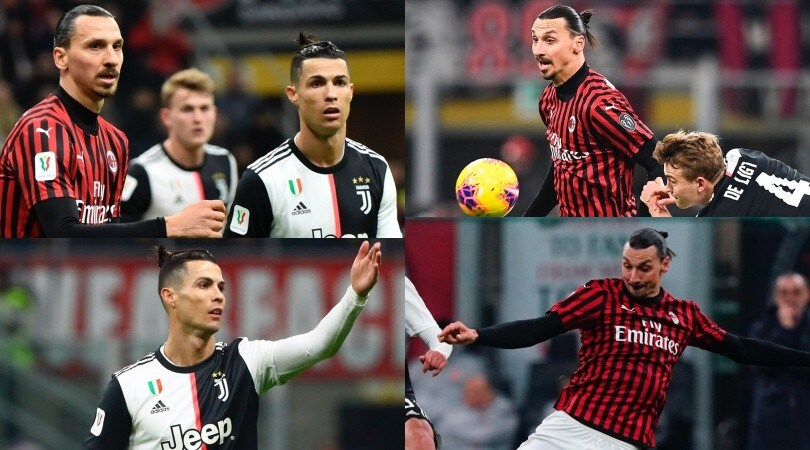 Milan-Juve è Ibrahimovic contro Ronaldo: spettacolo a San Siro