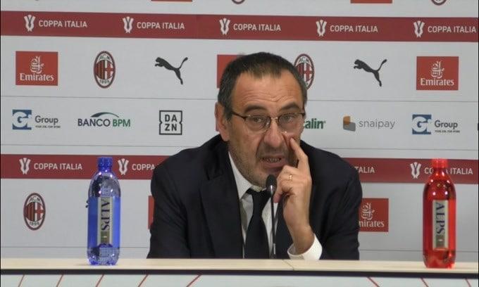 """Sarri: """"Nessuna preoccupazione per i gol"""""""