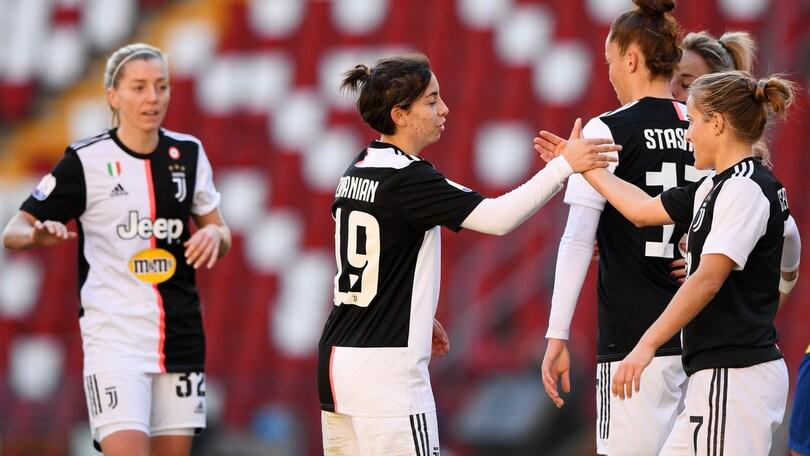 """Cernoia su Juve-Inter: """"Conta per le donne quanto per gli uomini"""""""
