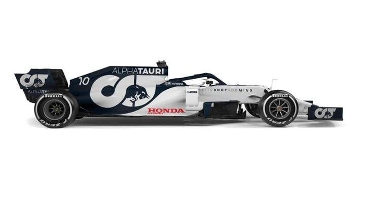 Alpha Tauri, presentata la nuova AT01 F1 2020