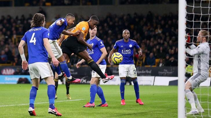 Premier, il Leicester frena ancora: 0-0 a Wolverhampton