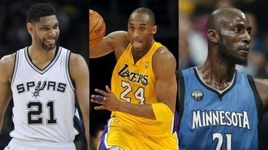 Hall of Fame 2020: Bryant, Duncan e Garnett tra i finalisti