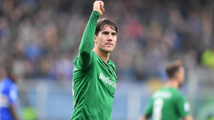 Fiorentina, attaccanti spuntati: Vlahovic sotto esame