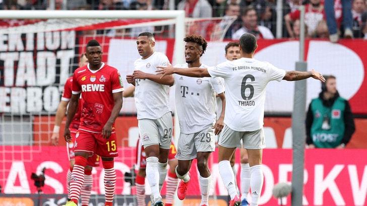 Bundesliga, il Bayern Monaco stende il Colonia e si riprende la vetta