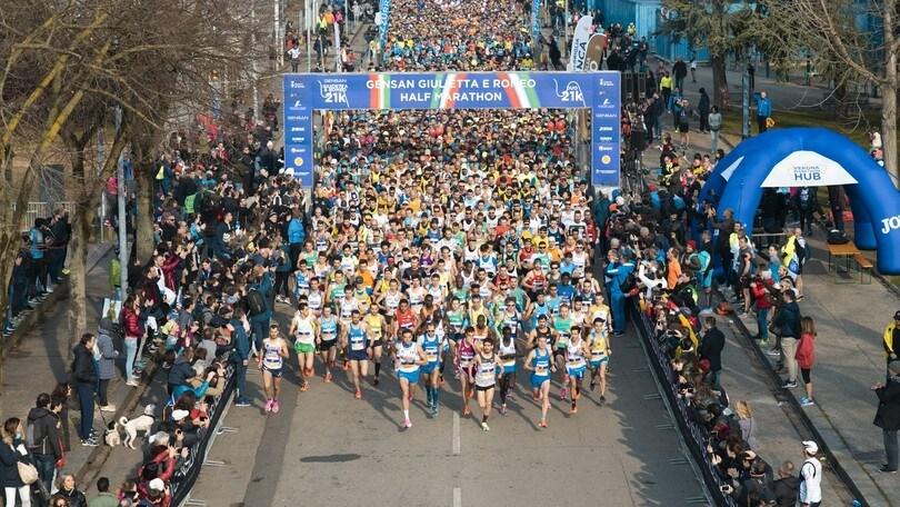 Gensan Giulietta&Romeo Half Marathon, Valeria Straneo è la regina di Verona