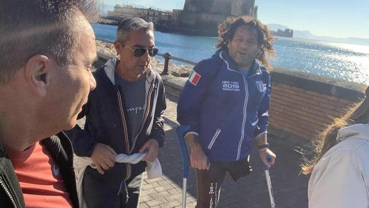 Alla Napoli City Half Marathon un motivatore d'eccezione, Gianni Sasso!
