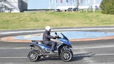 Qooder, test drive e formazione con Poste Italiane a Vallelunga