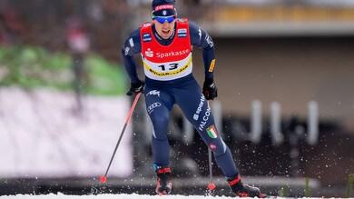 Tour de Ski: Pellegrino secondo, trionfo Klaebo nella tappa di Are