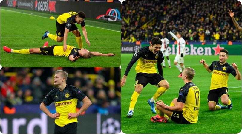 Haaland ne fa due e il Borussia Dortmund si fa trascinare alla vittoria contro il Psg