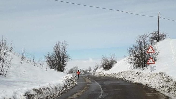 Il potere allenante del fartlek collinare in inverno