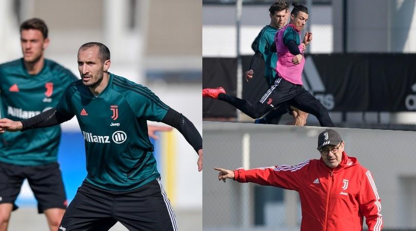 La Juve con il suo capitano: Chiellini guida la difesa